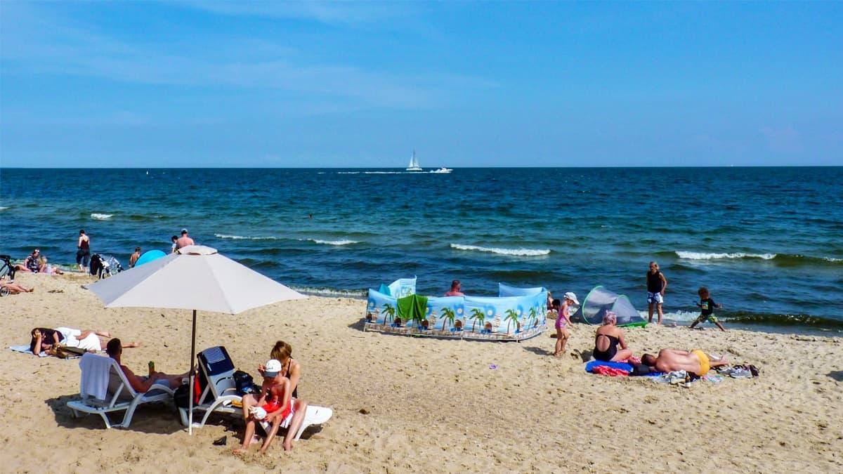 Orlowo Beach