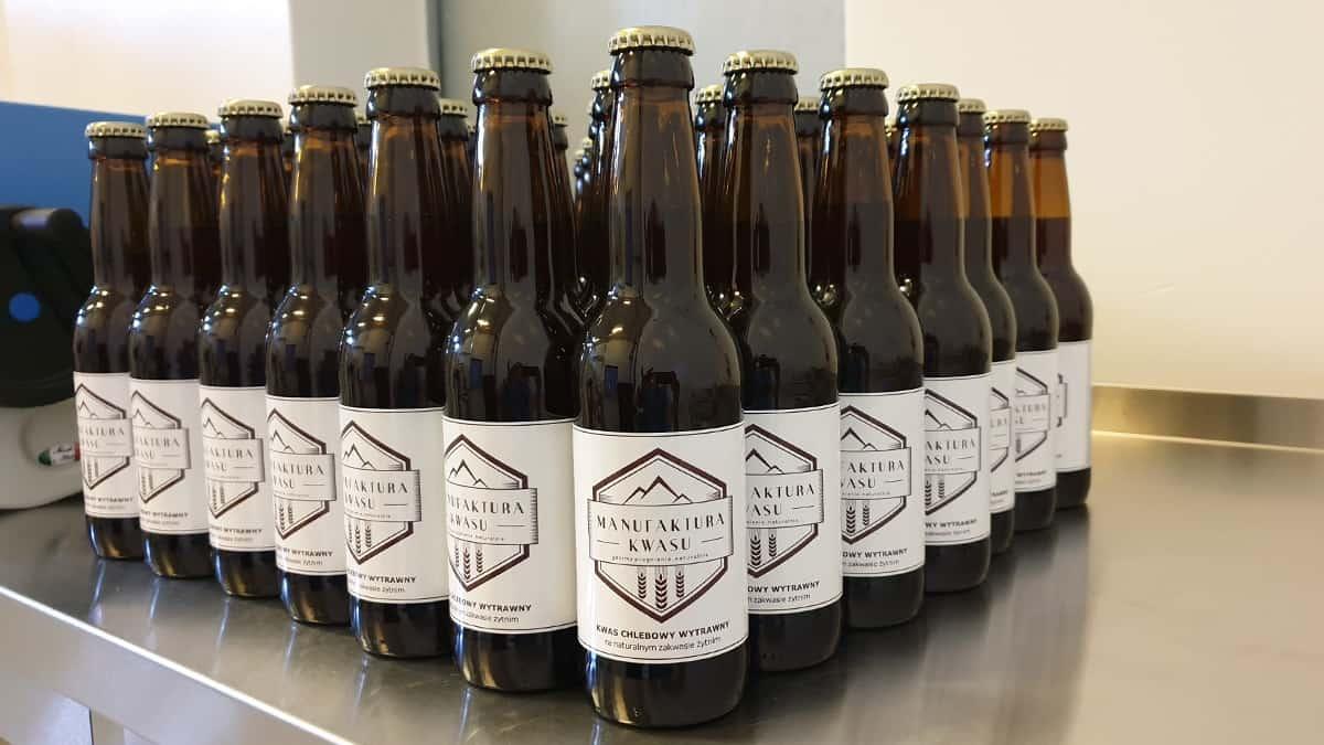 bottles of kvass