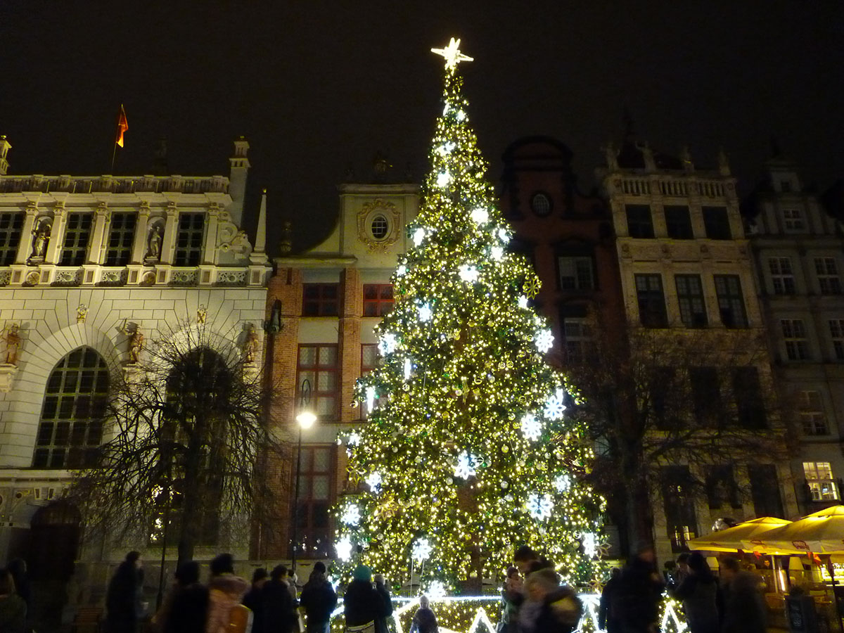 Christmas Tree in Gdansk