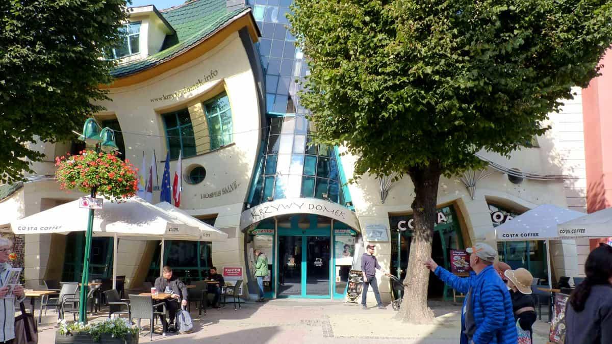 Krzywy Domek in Sopot