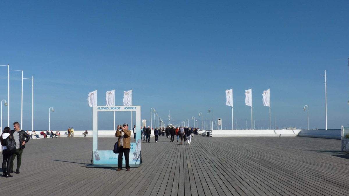 Sopot Pier in all its glory