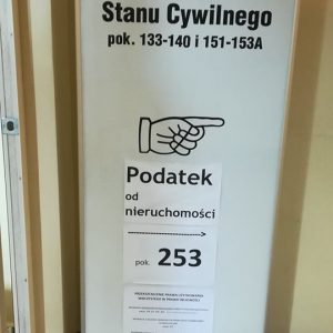 Property Tax Office in Gdańsk