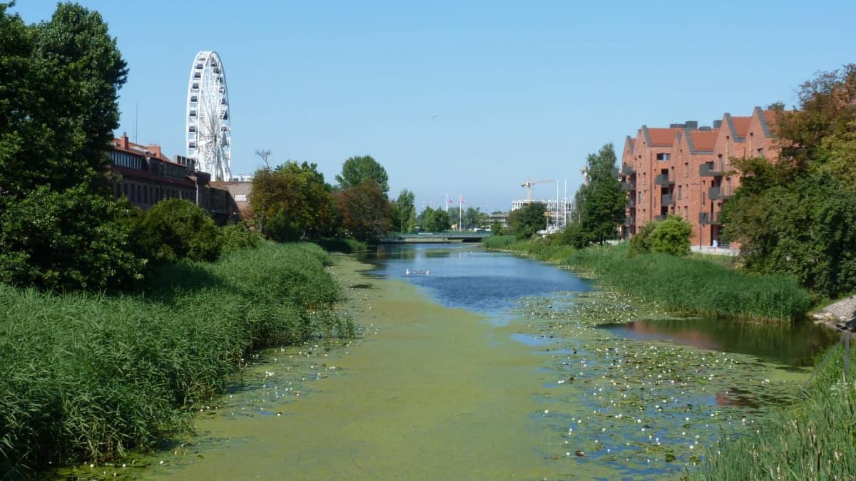 Stępka Canal in Gdansk