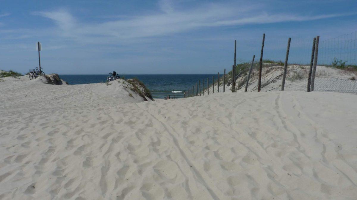 Piaski beach
