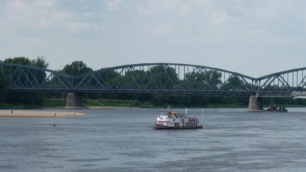 Vistula River in Torun