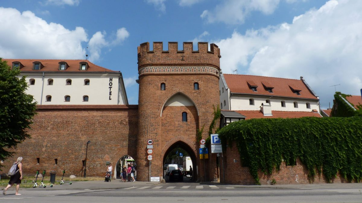 Bridge Gate in Torun