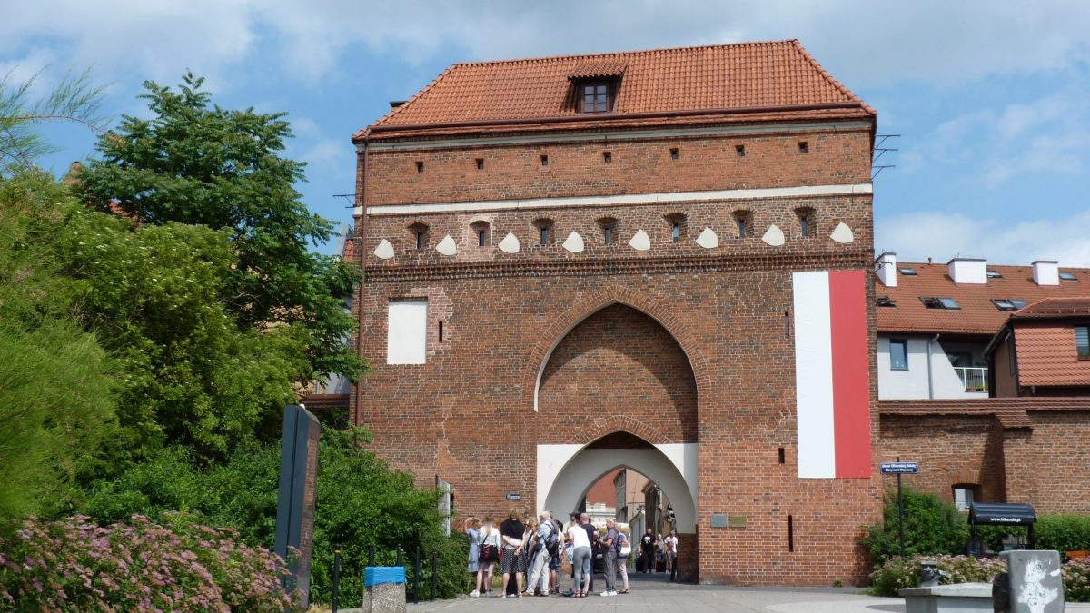 Brama Klasztorna w Toruniu - Convent Gate in Torun