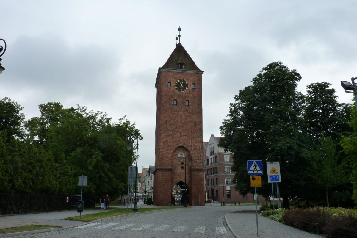 Market Gate in Elbląg - Brama Targowa