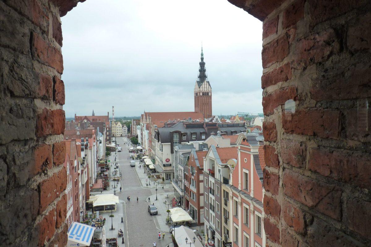 View of Elbląg