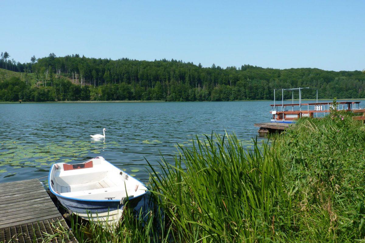 Jezioro Ostrzyckie Krzeszna